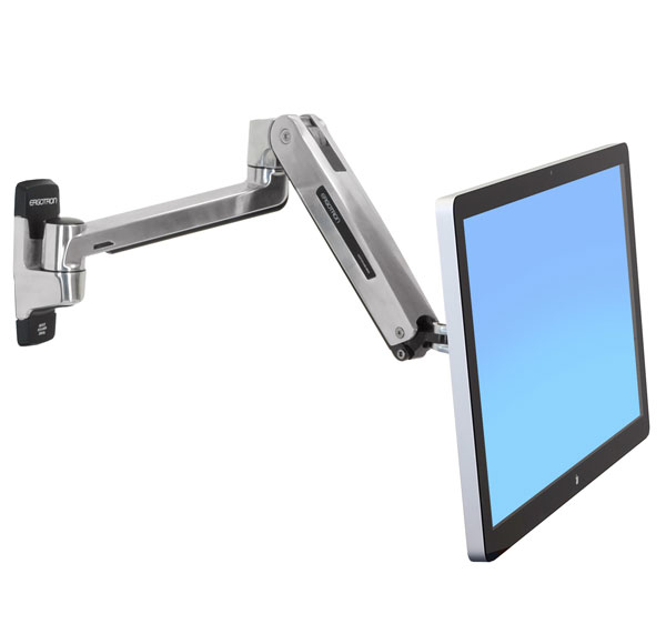 ERGOTRON 45-383-026 LX HD SIT-STAND WALL MOUNT LCD ARM, 116.84 CM (46