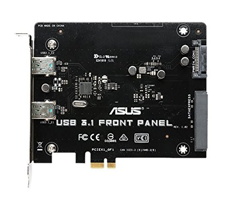 ASUS 90MC03C0-M0EAY0 INTERNAL USB 3.1 INTERFACE CARDS/ADAPTER