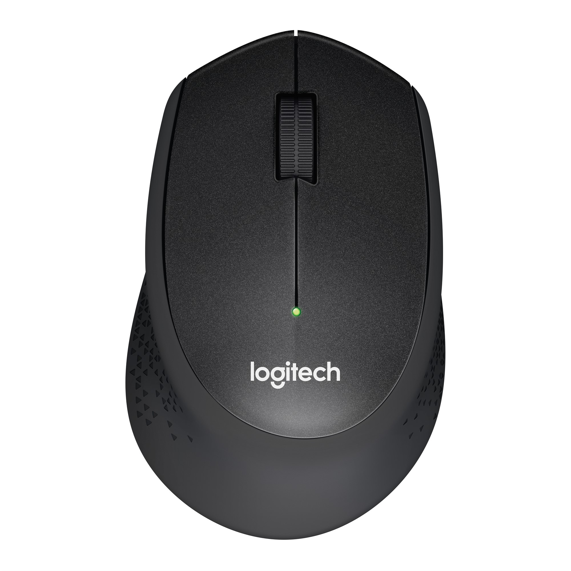LOGITECH M330 RF WIRELESS MECHANICAL 1000DPI RIGHT-HAND BLACK MICE