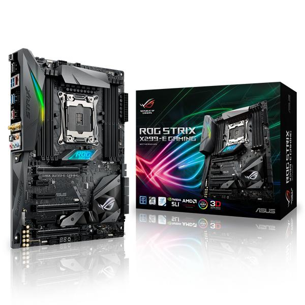 ASUS ROG STRIX X299-E GAMING INTEL X299 LGA 2066 ATX