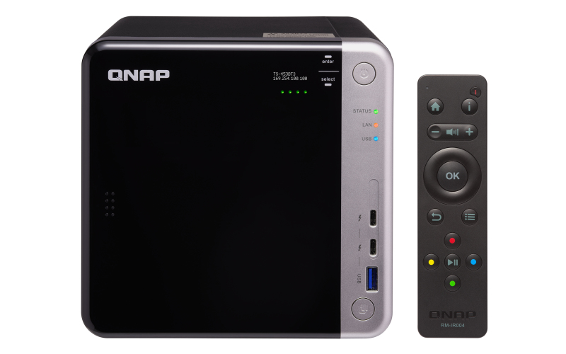 QNAP TS-453BT3 NAS TOWER ETHERNET LAN BLACK