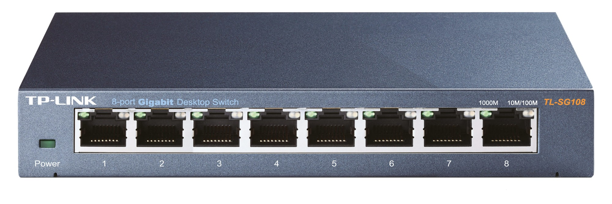 TP-LINK TL-SG108 UNMANAGED NETWORK SWITCH BLACK