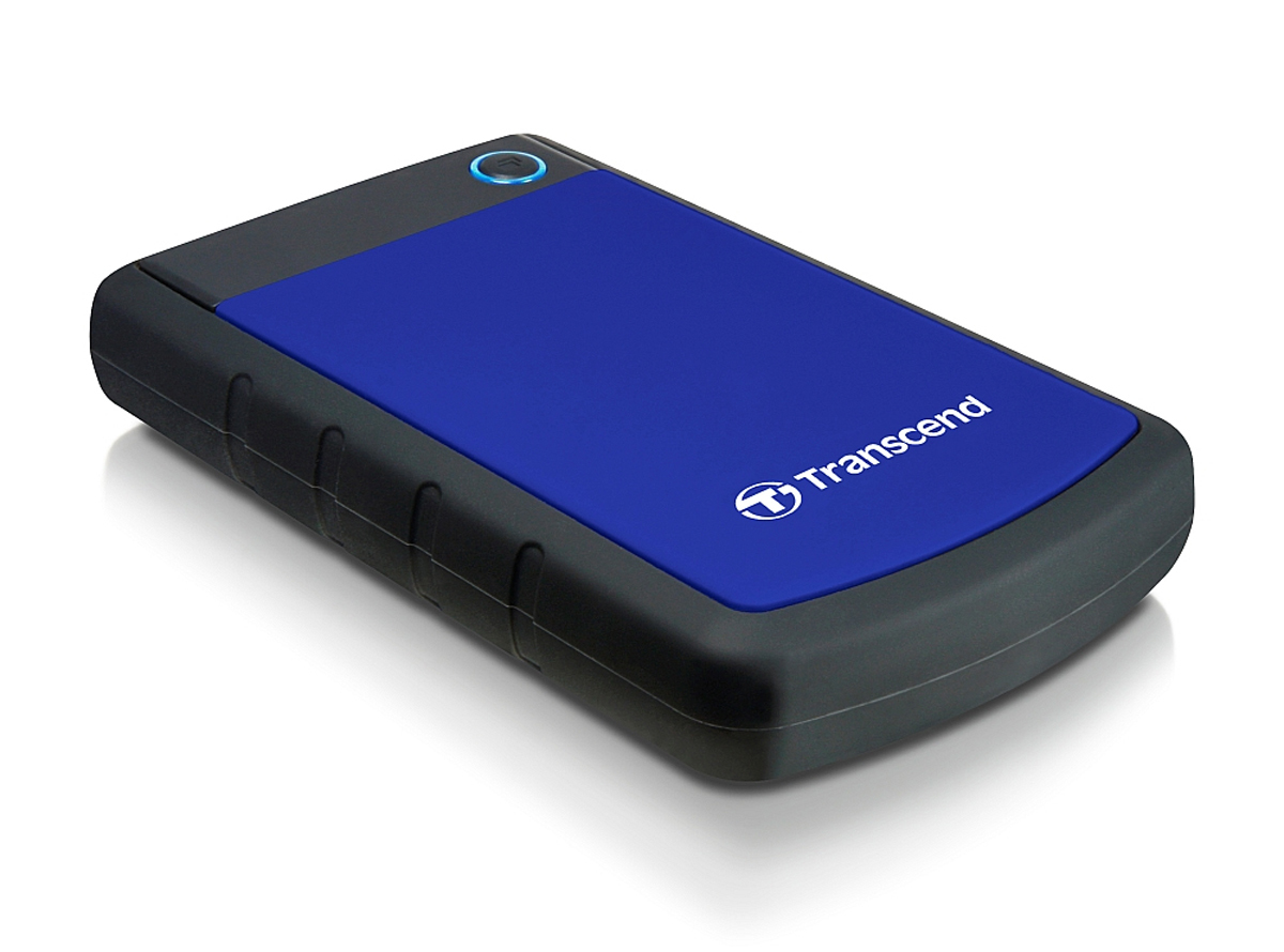 TRANSCEND 2TB STOREJET 25H3 2000GB BLACK,BLUE EXTERNAL HARD DRIVE