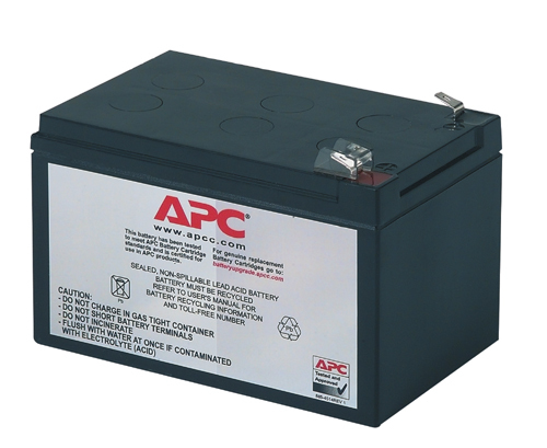 APC REPLACEMENT BATTERY CARTRIDGE #4 SEALED LEAD ACID (VRLA) RECHARGEABLE