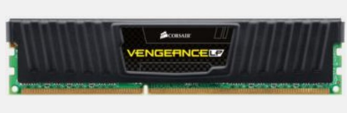 CORSAIR VENGEANCE LP 8GB 1600MHZ CL9 DDR3 MEMORY MODULE