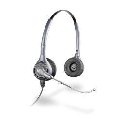 PLANTRONICS 82312-41 HW361 SUPRAPLUS BINAURAL HEAD-BAND SILVER HEADSET