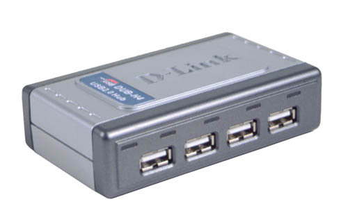 D-LINK HI-SPEED USB 2.0 4-PORT HUB INTERFACE