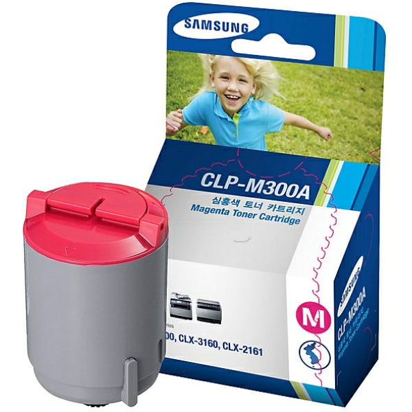 SAMSUNG CLP-M300A/ELS TONER MAGENTA, 1000 PAGES @ 5% COVERAGE