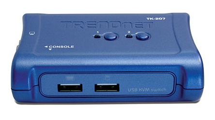 TRENDNET TK-207K BLUE KVM SWITCH