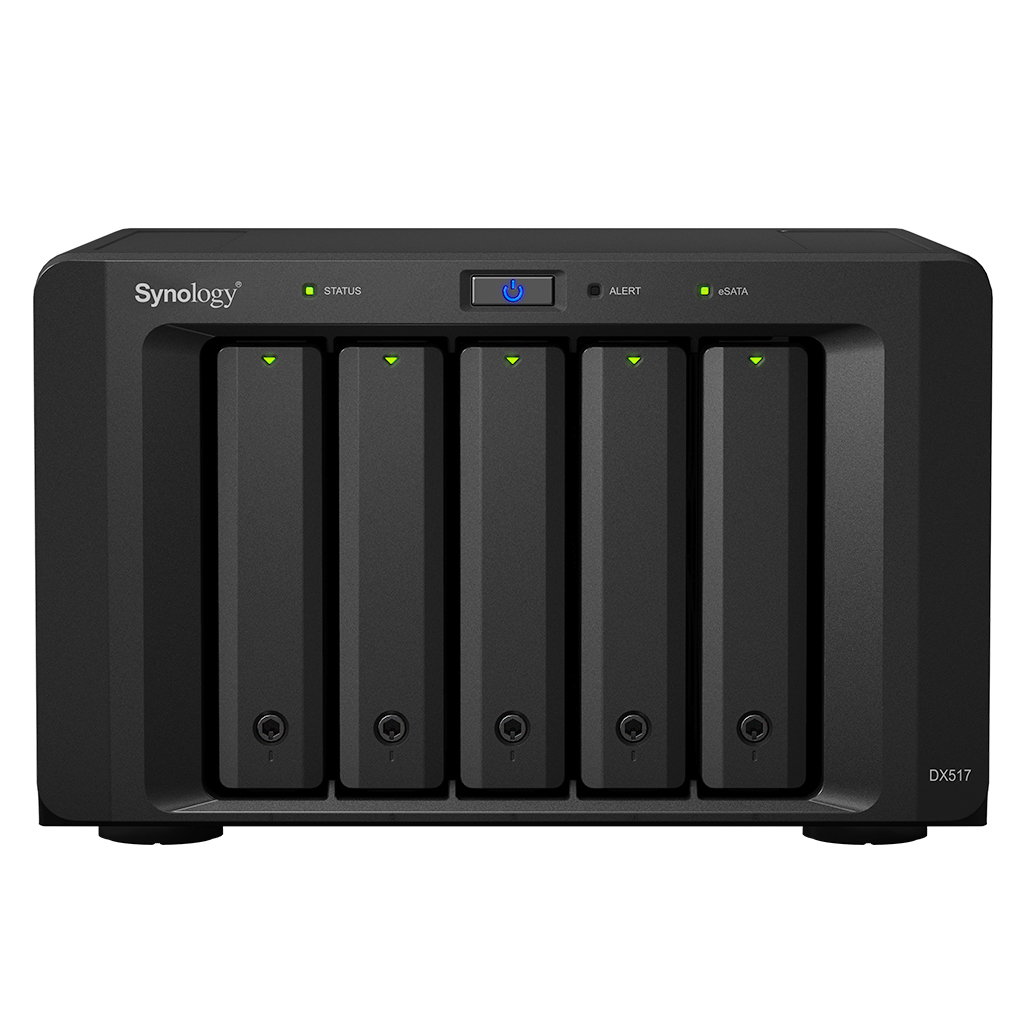 SYNOLOGY DX517 DESKTOP BLACK DISK ARRAY
