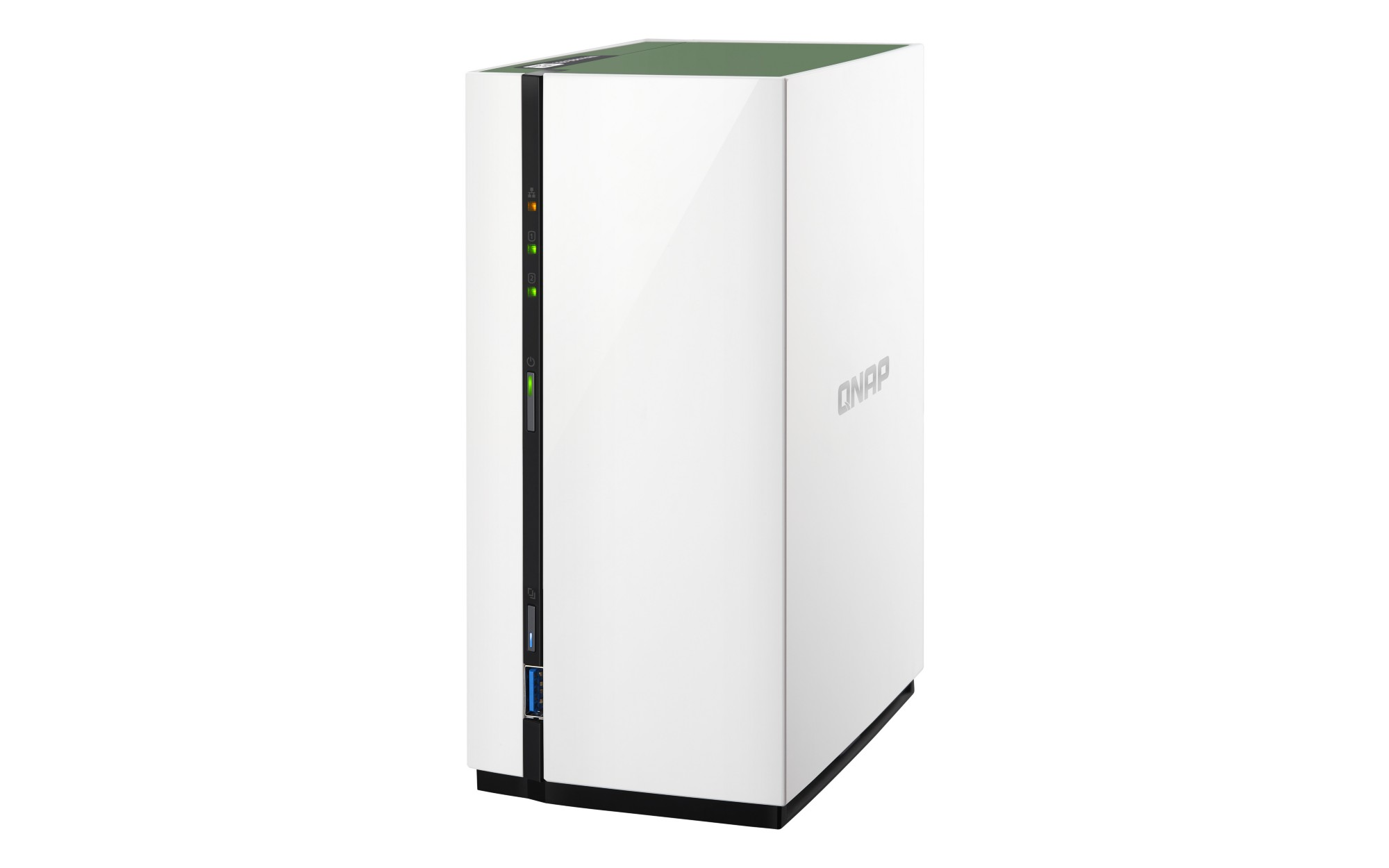 QNAP TS-228A NAS MINI TOWER ETHERNET LAN WHITE STORAGE SERVER