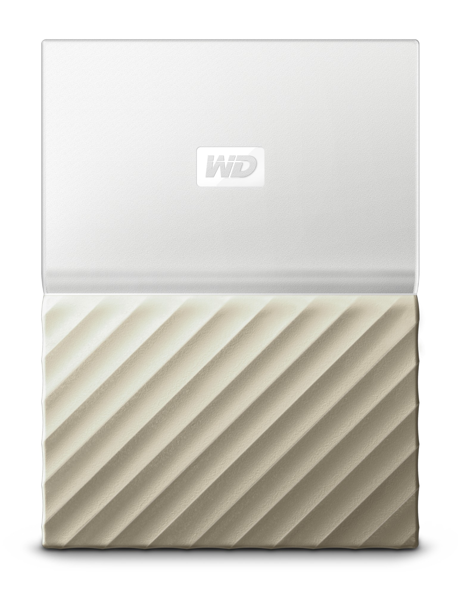 WESTERN DIGITAL MY PASSPORT ULTRA 2000GB GOLD, WHITE EXTERNAL HARD DRIVE