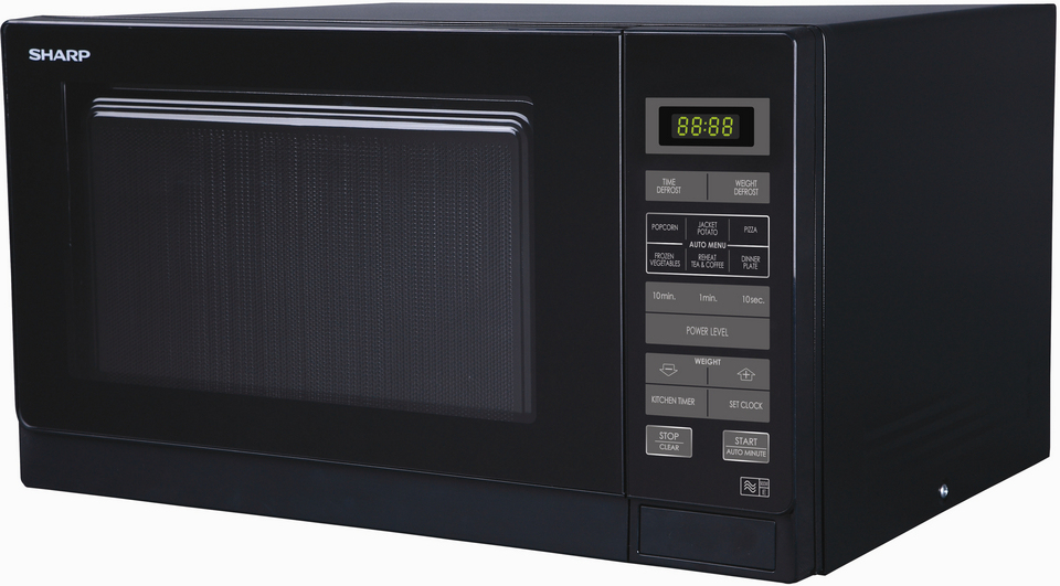 SHARP R-372KM COUNTERTOP 25L 900W BLACK