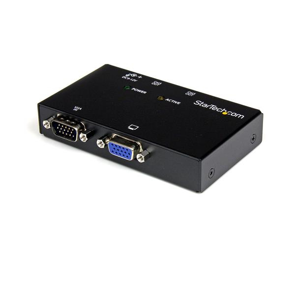 STARTECH ST1212T 2 PORT VGA OVER CAT5 VIDEO EXTENDER - TRANSMITTER MONITOR UTP