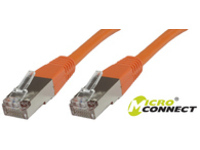 MICROCONNECT STP615O STP CAT6 15M ORANGE NETWORKING CABLE