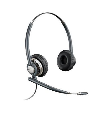 PLANTRONICS 78714-102 HW720 BINAURAL HEAD-BAND BLACK HEADSET