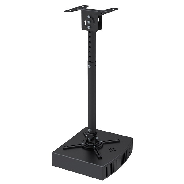 NEWSTAR BEAMER-C100 UNIVERSAL PROJECTOR CEILING MOUNT, HEIGHT ADJUSTABLE (58-83CM) - BLACK