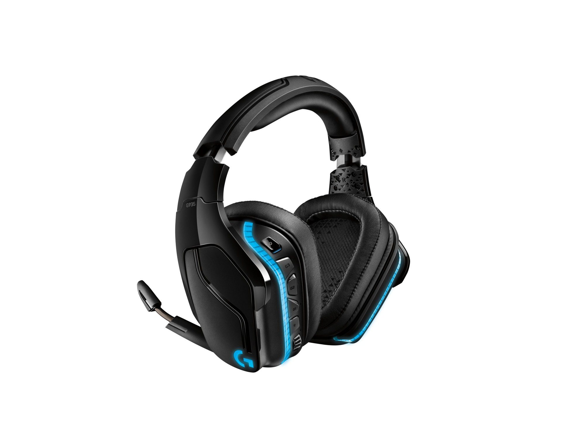 Logitech G935 Binaural Head-band Black,Blue