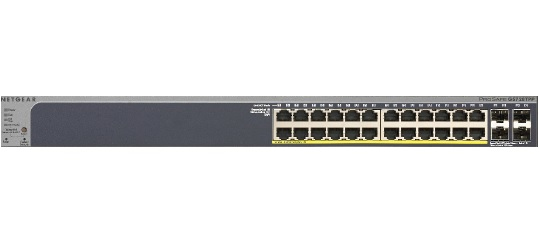 NETGEAR GS728TPP MANAGED NETWORK SWITCH L3 GIGABIT ETHERNET POWER OVER (POE) GREY