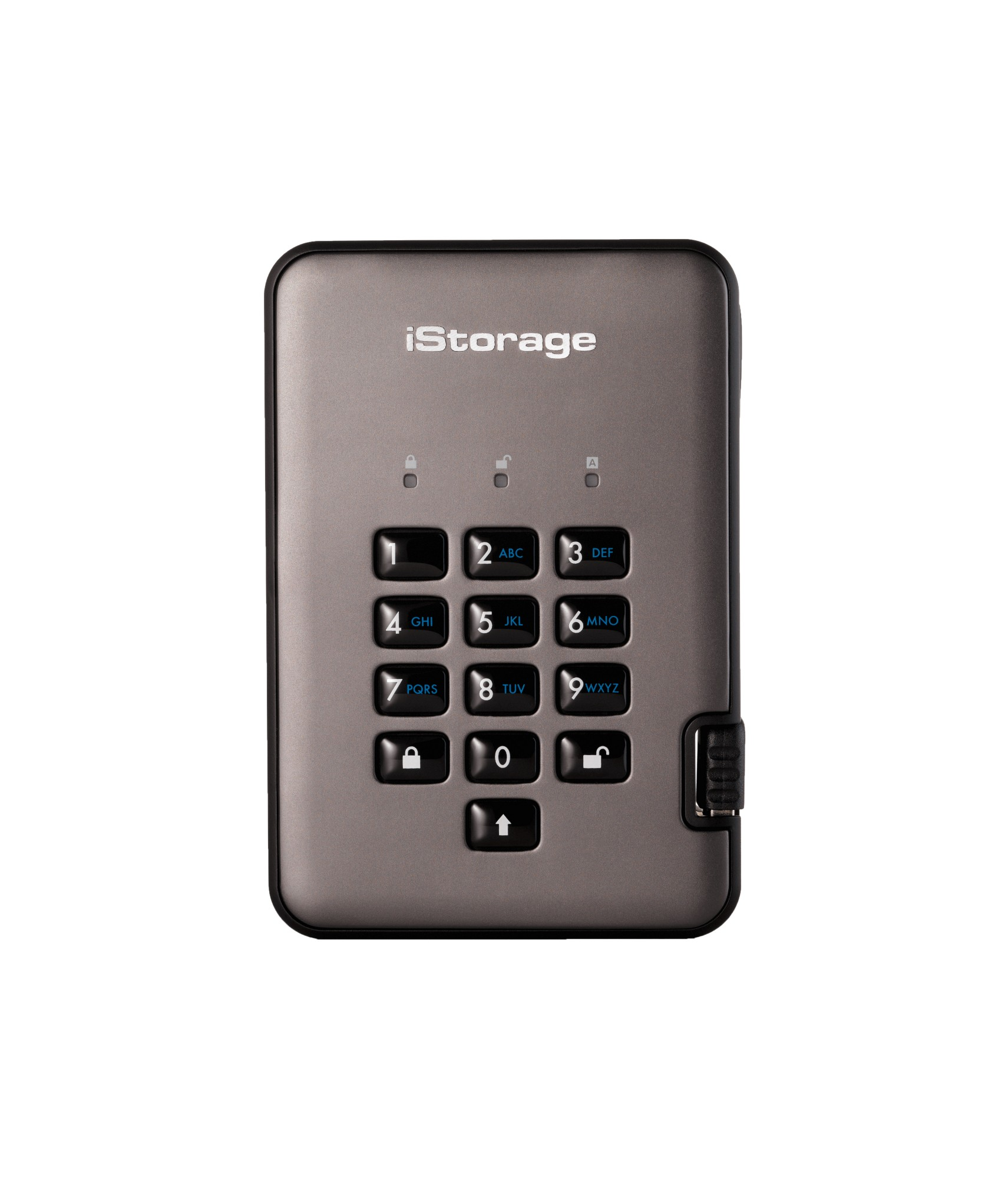 iStorage diskAshur PRO2 2000 GB Black,Graphite