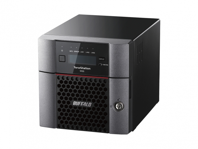 BUFFALO WS5220DN04W6EU TERASTATION WS5220DN SAN DESKTOP ETHERNET LAN BLACK