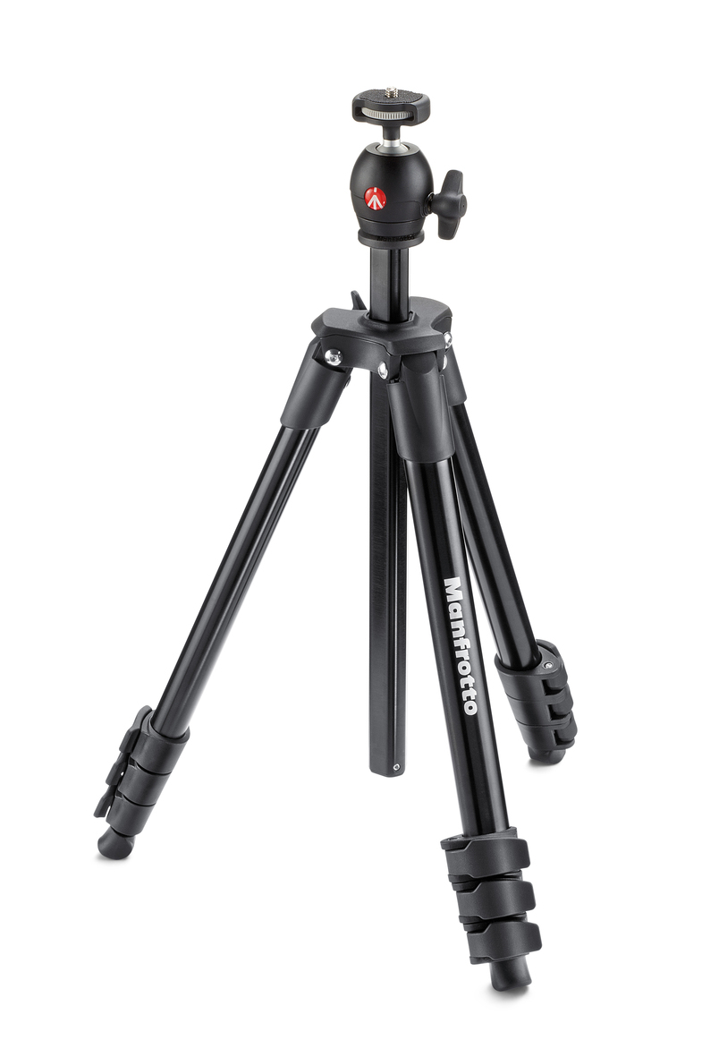 MANFROTTO MKCOMPACTLT-BK COMPACT LIGHT BLACK