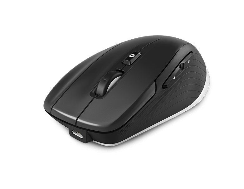3D CONNEXION 3DX-700062 3DCONNEXION CADMOUSE WIRELESS BLUETOOTH+USB OPTICAL 7200DPI RIGHT-HAND BLACK MICE