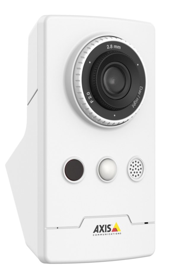 AXIS 0810-002 M1065-LW IP SECURITY CAMERA INDOOR CUBE WHITE 1920 X 1080PIXELS