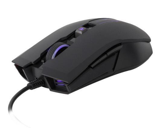COOLER MASTER MM110 USB 2400DPI RIGHT-HAND BLACK MICE