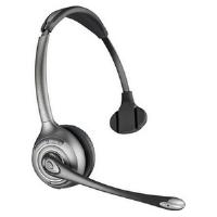 PLANTRONICS 83323-12 WH300 - A SAVI OTH DECT MONAURAL HEAD-BAND BLACK HEADSET