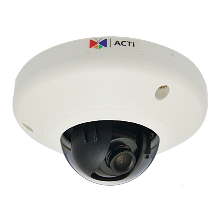 ACTI E93 IP SECURITY CAMERA INDOOR DOME WHITE 2592 X 1944PIXELS