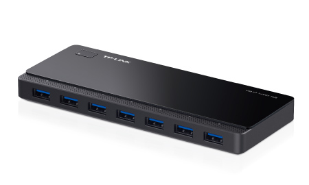 TP-LINK UH700 5000MBIT/S BLACK INTERFACE HUB