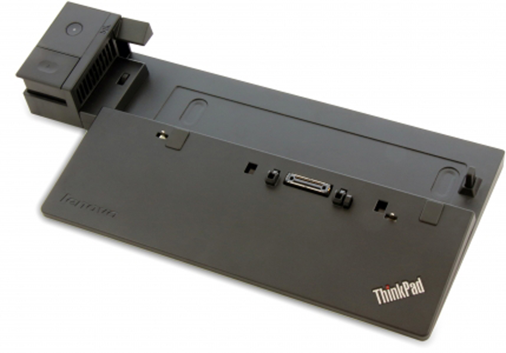 LENOVO 40A00065DK BLACK NOTEBOOK DOCK - PORT REPLICATOR