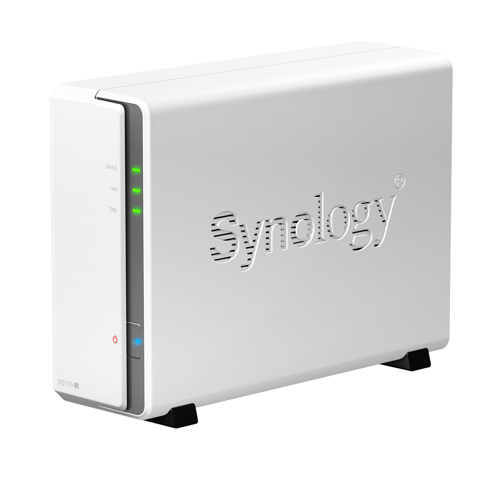 SYNOLOGY DS115J/2TB-REDPRO 1 BAY NAS