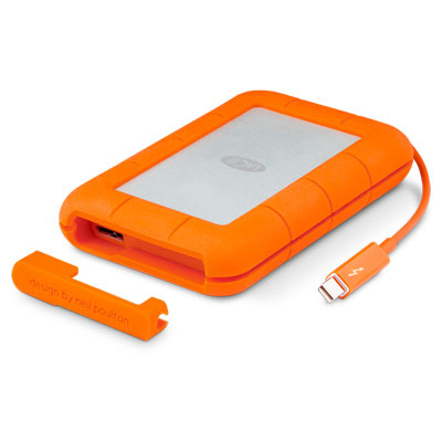 LACIE STFA4000400 RUGGED RAID 4000GB ORANGE, SILVER EXTERNAL HARD DRIVE