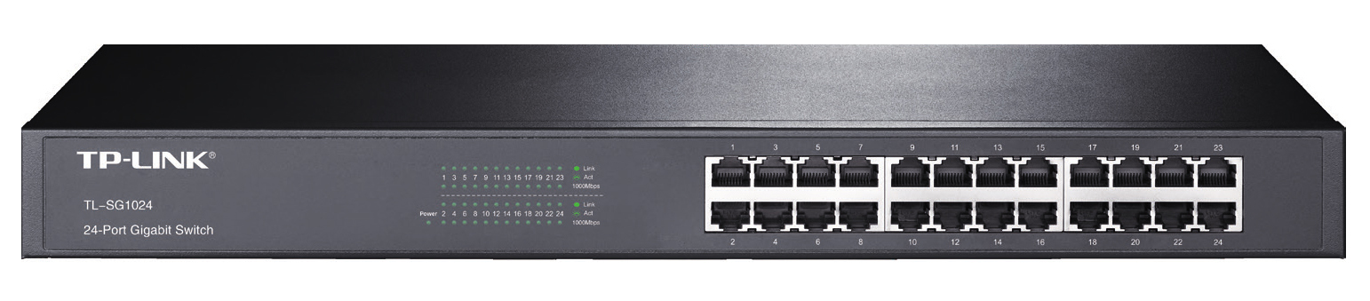 TP-LINK 24-PORT GIGABIT SWITCH UNMANAGED NETWORK