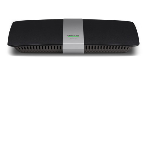 LINKSYS EA6350 DUAL-BAND (2.4 GHZ / 5 GHZ) GIGABIT ETHERNET BLACK WIRELESS ROUTER