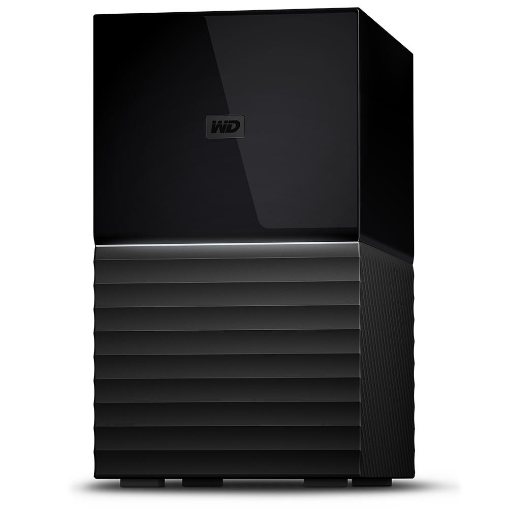 WESTERN DIGITAL MY BOOK DUO 20000GB DESKTOP BLACK DISK ARRAY
