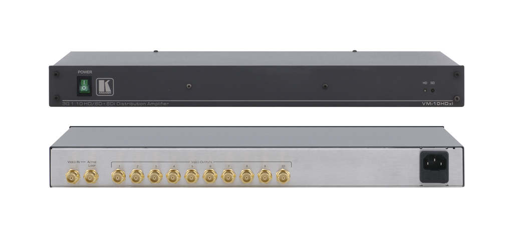 KRAMER ELECTRONICS VM-10HDXL VIDEO SWITCH