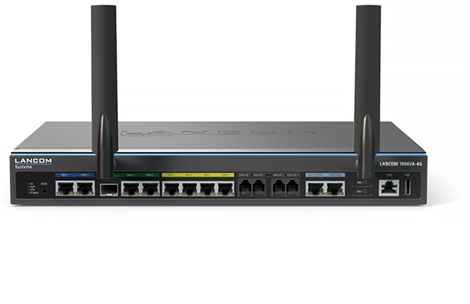 LANCOM SYSTEMS 62090 1906VA-4G ETHERNET LAN BLACK WIRED ROUTER