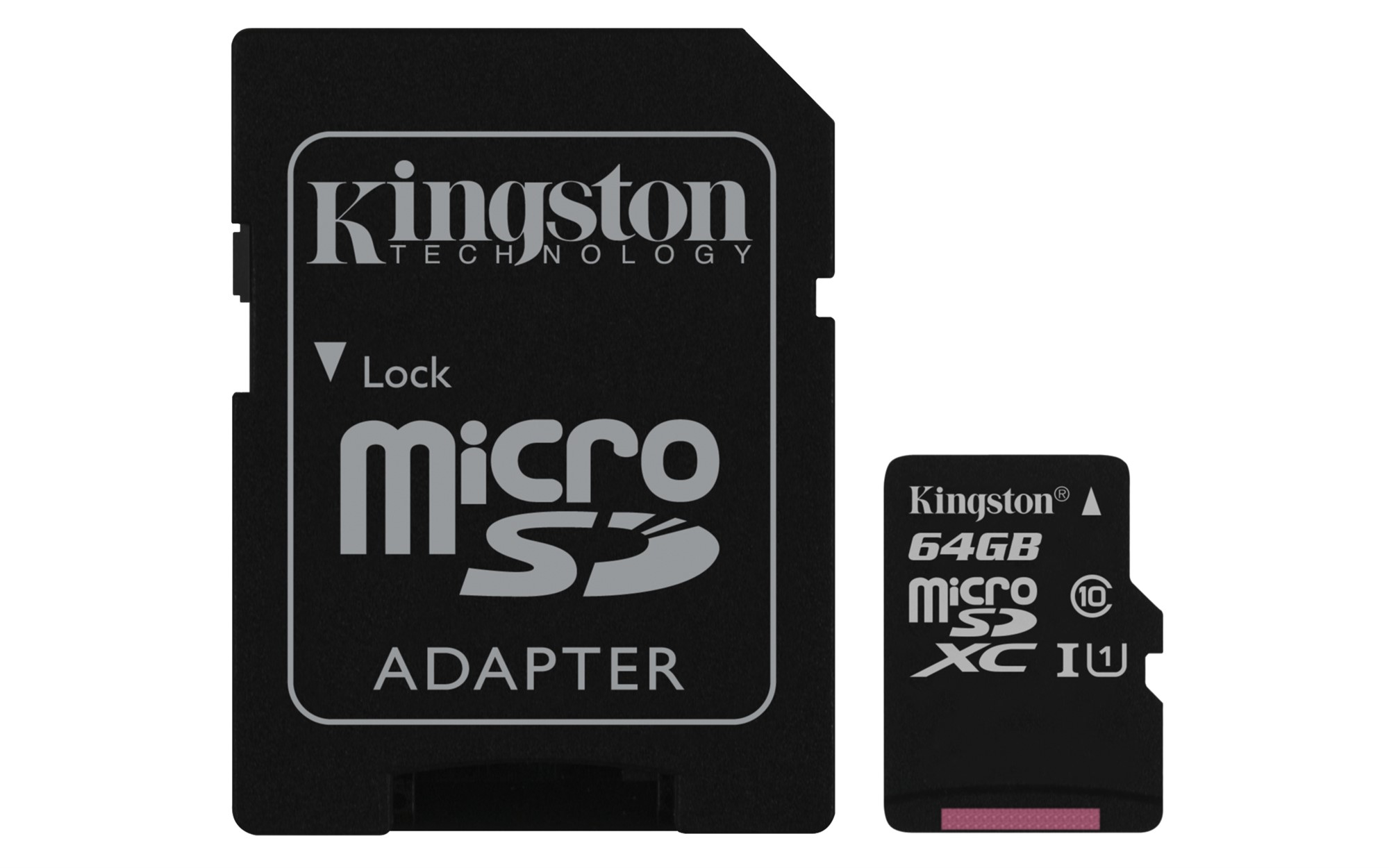 KINGSTON TECHNOLOGY CANVAS SELECT 64GB MICROSDXC UHS-I CLASS 10 MEMORY CARD
