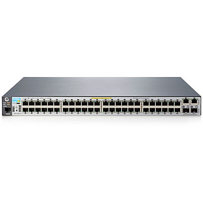 HPE J9778A 2530-48-POE+ MANAGED NETWORK SWITCH L2 FAST ETHERNET (10 - 100) POWER OVER (POE) 1U GREY