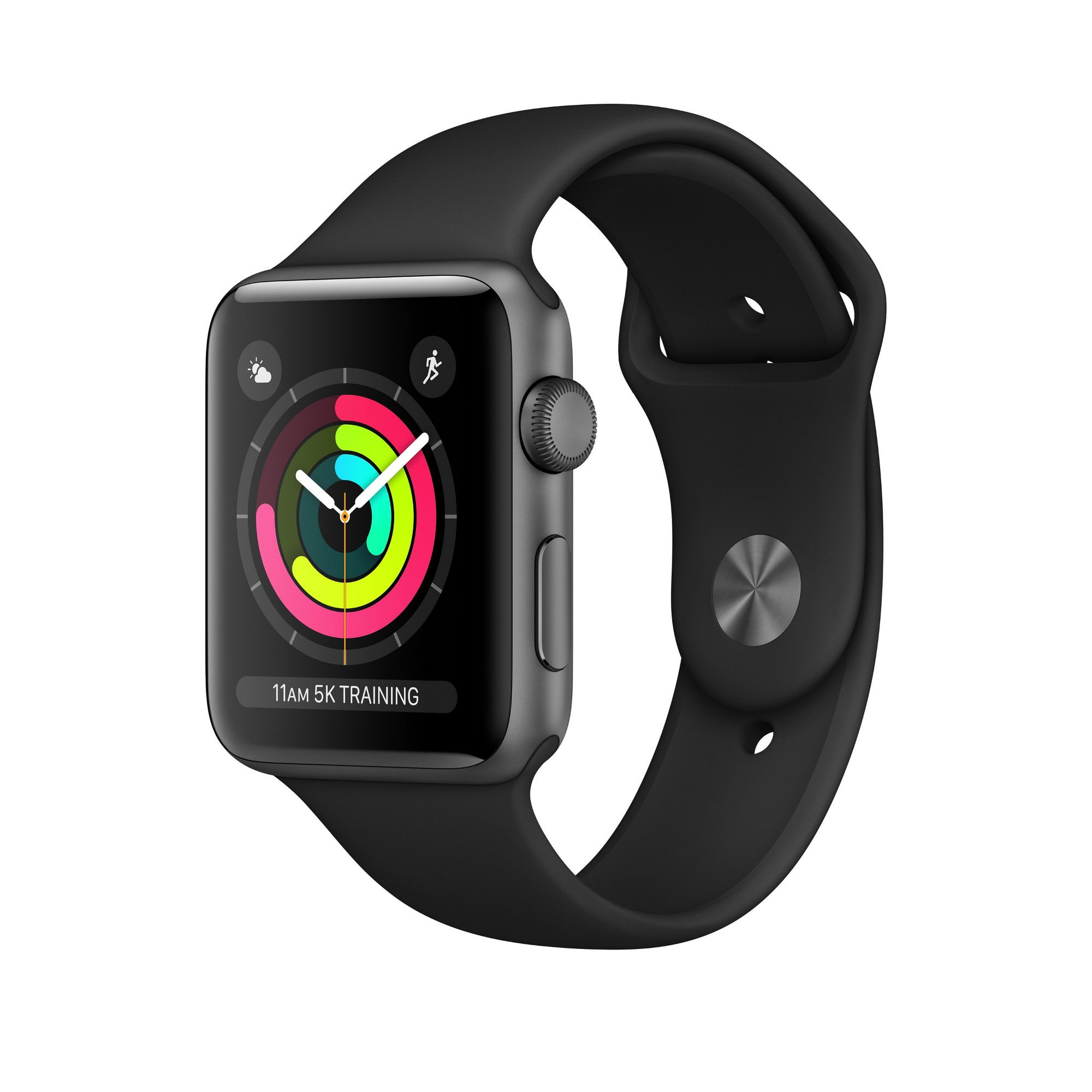 Apple Watch Series 3 smartwatch Grey OLED GPS (satellite)