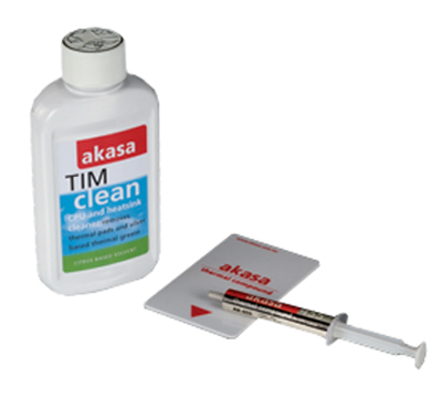 AKASA TIM KIT, AK-455, 76 CPS, 2.4 W/MK, 5G + AK-TC, 125ML