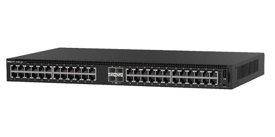 DELL 1148T-ON MANAGED L2 GIGABIT ETHERNET 1U BLACK