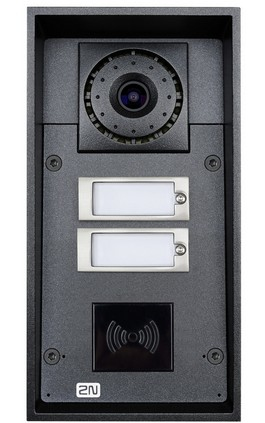 2N TELECOMMUNICATIONS 9151102CR HELIOS IP FORCE - 2 BUTTONS & CAMERA