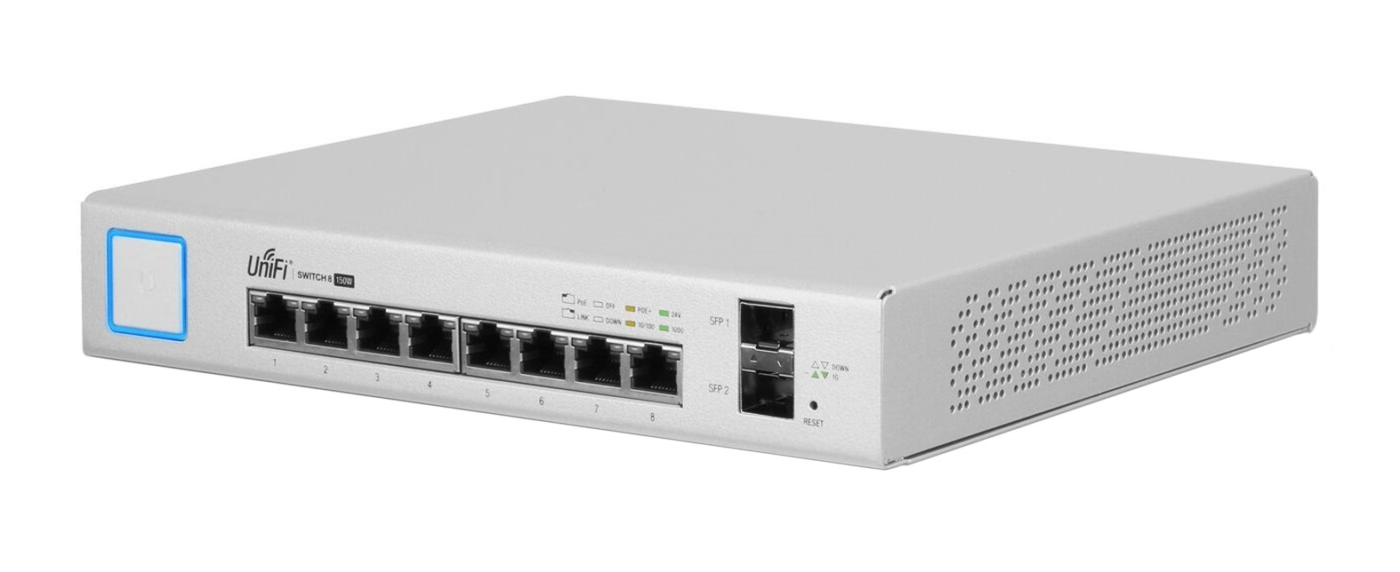 UBIQUITI NETWORKS US-8-150W UNIFI MANAGED NETWORK SWITCH