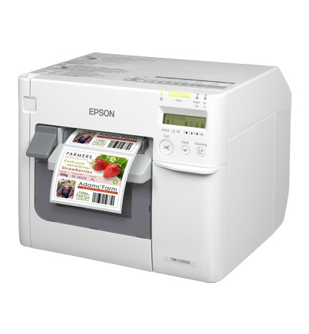 EPSON TM-C3500 INKJET COLOUR 720 X 360DPI LABEL PRINTER