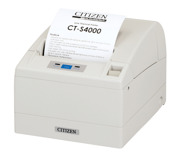 CITIZEN CT-S4000 THERMAL POS PRINTER 203 X 203DPI