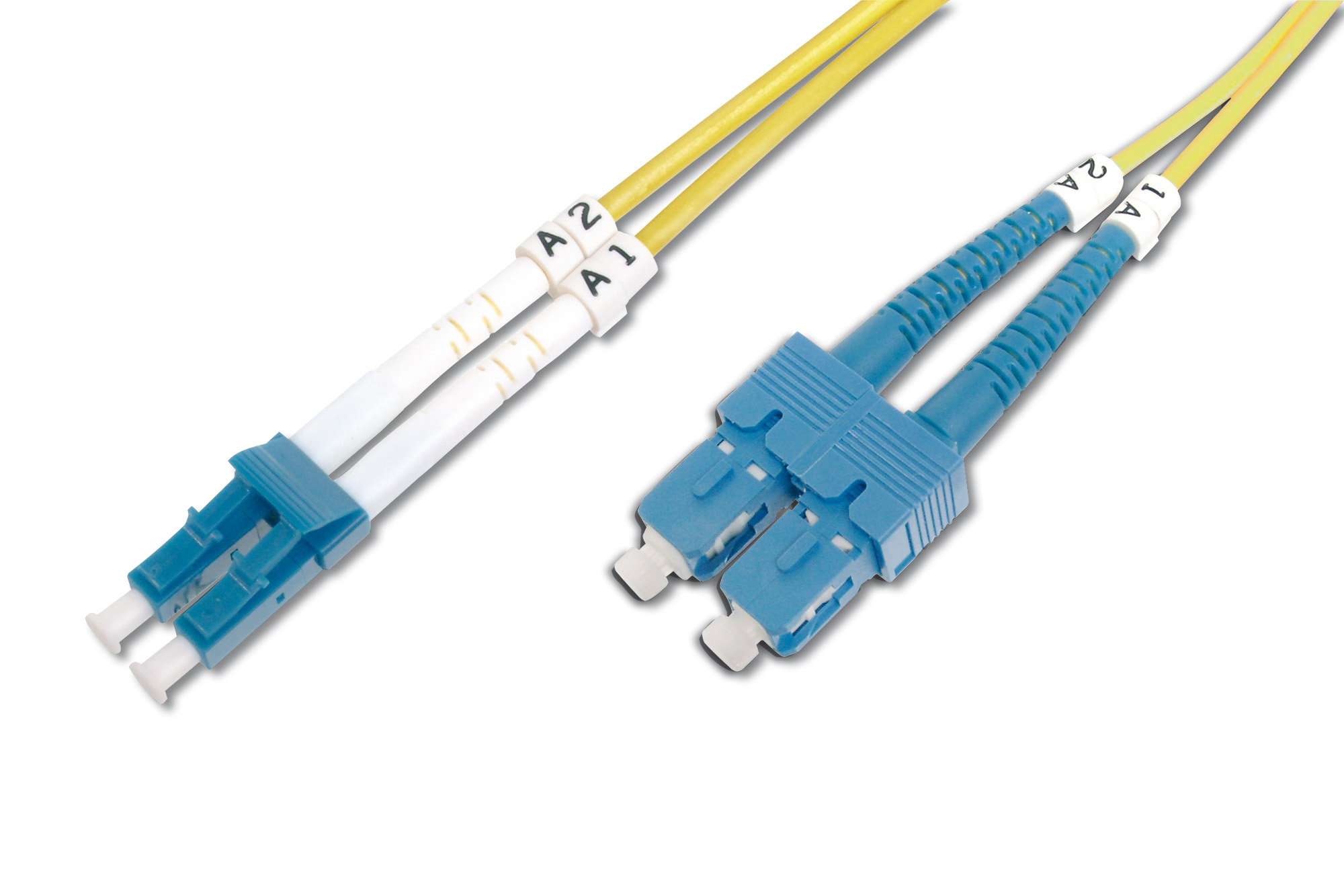 DIGITUS DK-2932-07 7M LC SC YELLOW FIBER OPTIC CABLE
